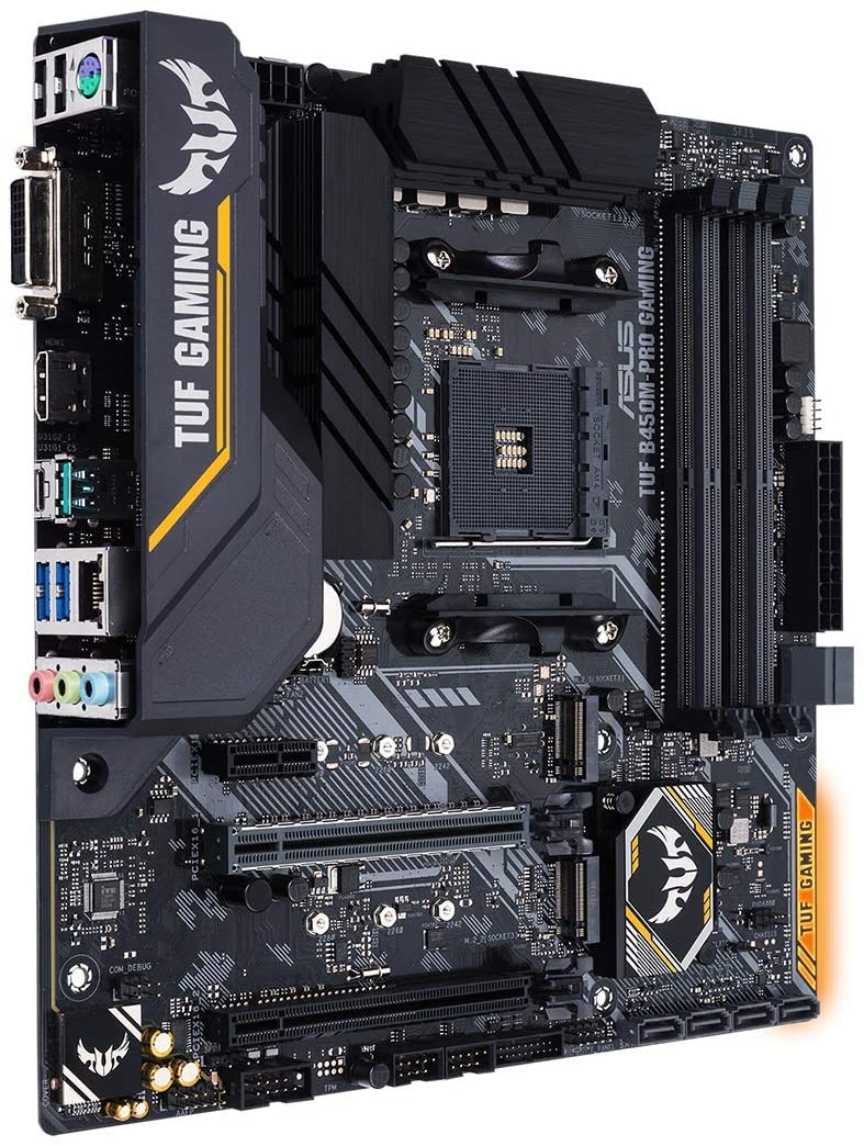 Placa Mãe Asus TUF B450M-PRO GAMING, AM4, mATX, DDR4