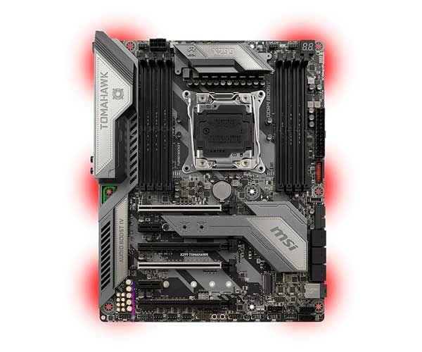 Placa Mãe MSI X299 TOMAHAWK LGA 2066 Chipset Intel X299