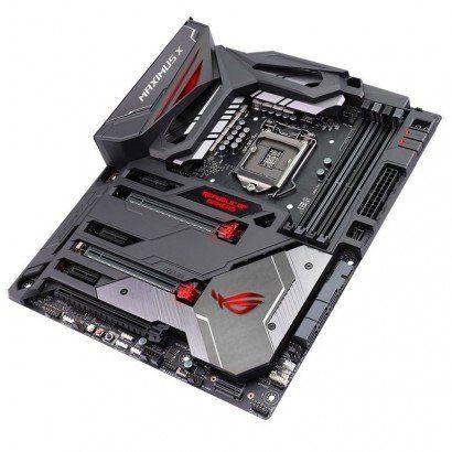 Placa Mãe S1151 ASUS Z370 ROG MAXIMUS X CODE 8 Gen, M.2, HDMI, DP, DDR4, TYPE C, USB3.1, LAN/SOM