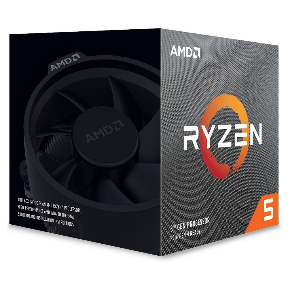 Processador AMD Ryzen 5 3600X 3.80GHz (4.4GHz Max Turbo) 35MB - Socket AM4