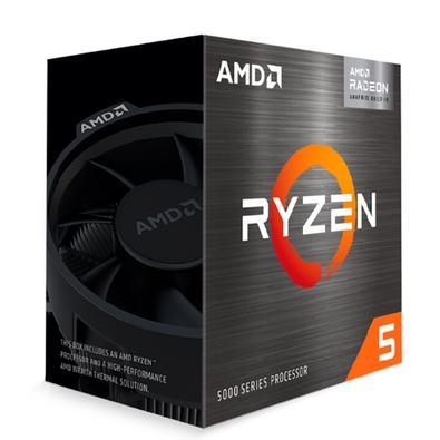 Processador AMD Ryzen 5 5600G, 3.9GHz (4.4GHz Max Turbo), AM4, 6-Cores 12-Threads