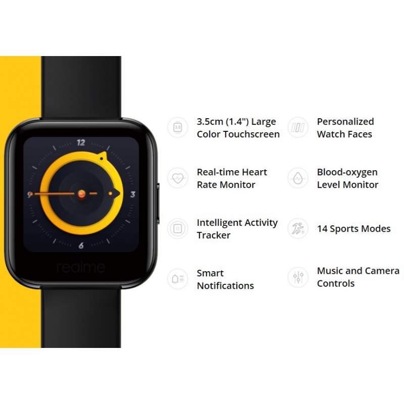 Relógio Realme Watch RMA161, IP68