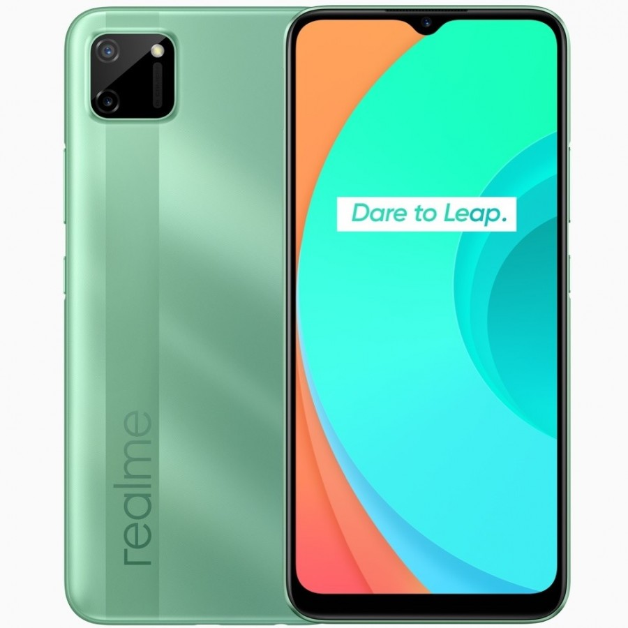 Smartphone Realme C11, 32GB, Tela 6.5', Câm 13MP