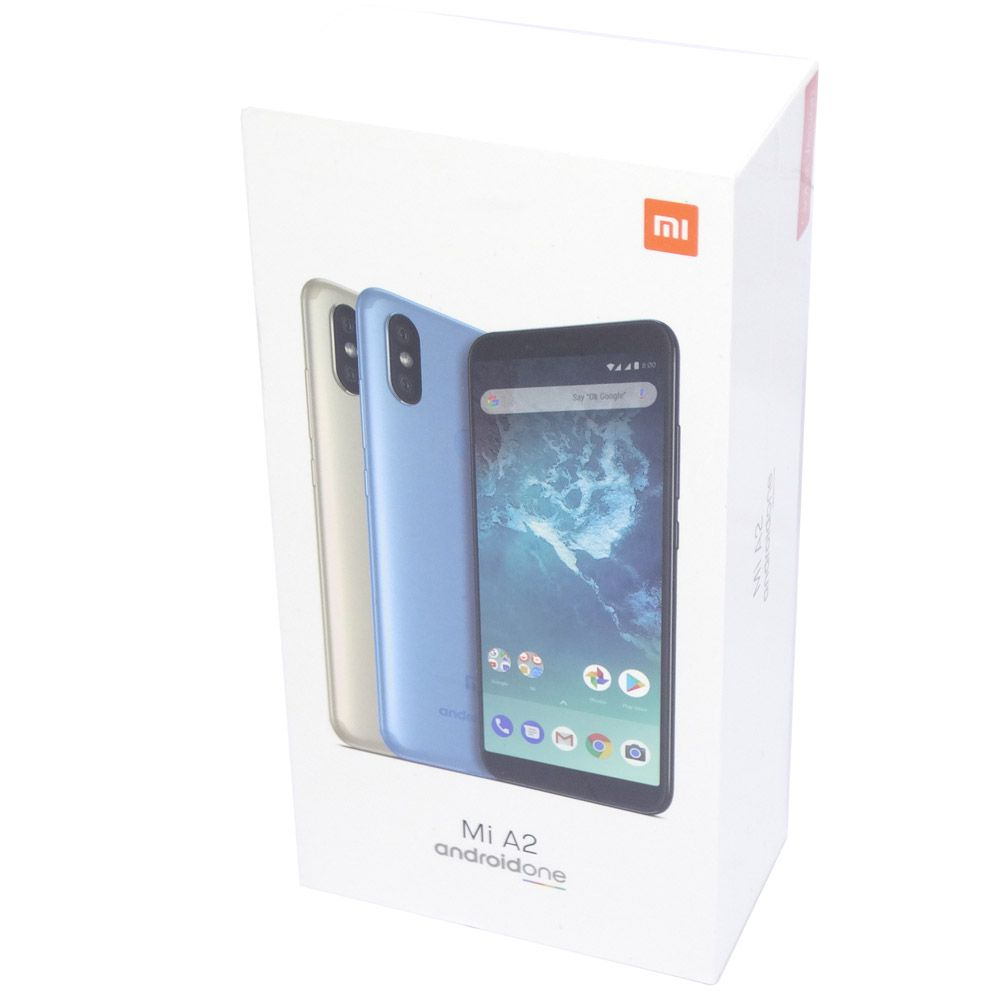 Smartphone Xiaomi A2 4GB Ram, 64GB, Dual Sim 5,99 pol, Câmeras 20MP, 12MP+20MP - Global