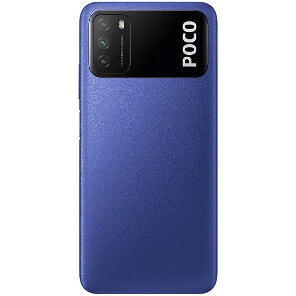 Smartphone Xiaomi Poco M3, Tela 6.53, 4GB Ram, 128GB, Câm 48MP