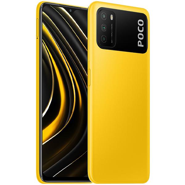 Smartphone Xiaomi Poco M3, Tela 6.53, 4GB Ram, Câm 48MP