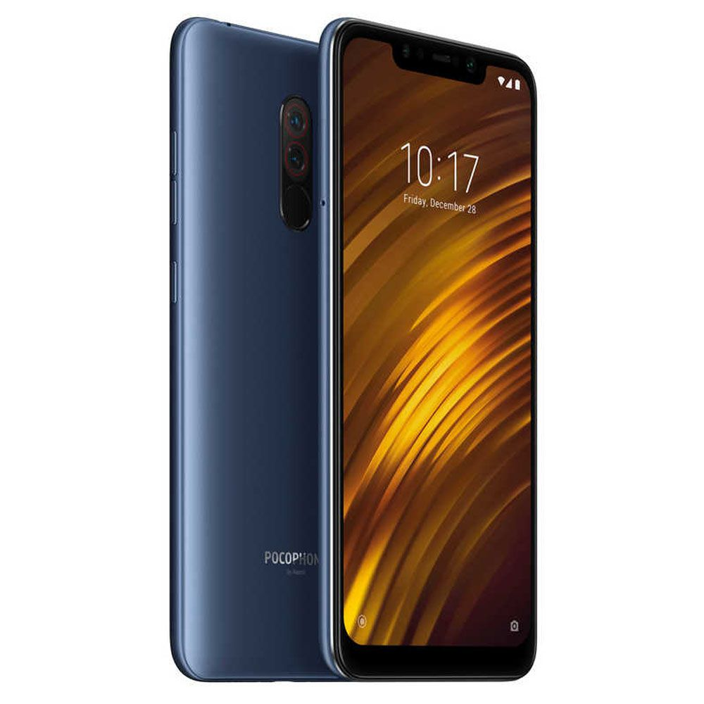 Smartphone Xiaomi Pocophone F1 6GB/128GB Câm.12MP/5MP+20MP - Global