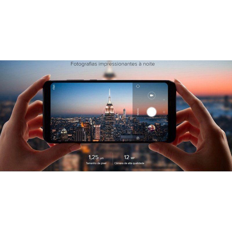Smartphone Xiaomi Redmi 5 Plus 4GB, 64GB, 4G LTE, Dual Sim Tela 5.99 pol, Câmera 12MP+5MP - Global
