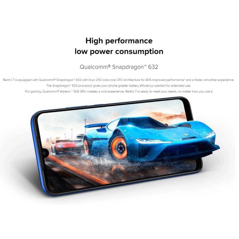 """Smartphone Xiaomi Redmi 7 Dual Sim LTE 6.26"""" 3GB/64GB - Global"""