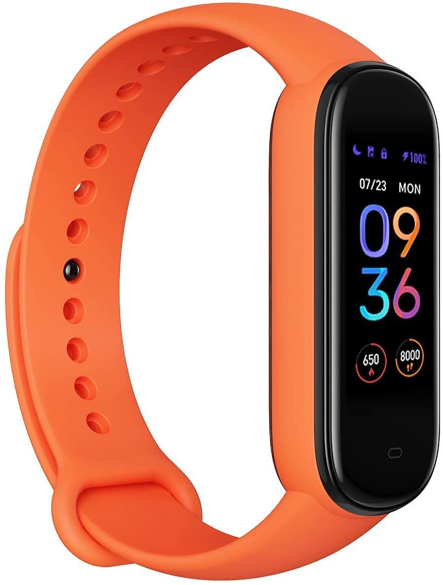 Smartwatch Amazfit Band 5 com Alexa e Oximetro