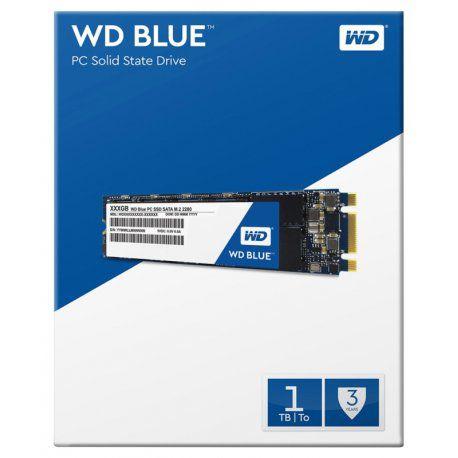 SSD Western Digital Blue 1TB SATA M.2 2280 - WDS100T1B0B