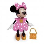 Boneca Minnie - Conta Histórias - Disney - Rosa - Elka