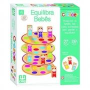 Brinquedo Educativo Crescer Equilibra Bebês - Nig Brinquedos