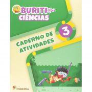 Buriti Plus Ciências 3 Caderno de Atividades - Capa Comum – Ed. Moderna