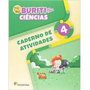 Buriti Plus Ciências 4 Caderno de Atividades - Capa Comum – Ed. Moderna
