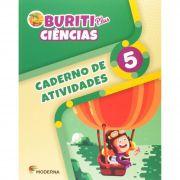 Buriti Plus Ciências 5 Caderno de Atividades - Capa Comum – Ed. Moderna