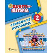 Buriti Plus História 2 Caderno de Atividades - Capa Comum - Ed Moderna
