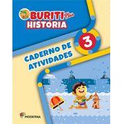 Buriti Plus História 3 Caderno de Atividades - Capa Comum - Ed Moderna
