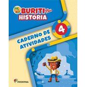 Buriti Plus História 4 Caderno de Atividades - Capa Comum - Ed Moderna