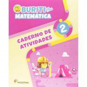 Buriti Plus Matemática 2 Caderno de Atividades - Capa Comum – Ed. Moderna
