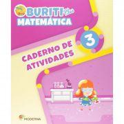 Buriti Plus Matemática 3 Caderno de Atividades - Capa Comum – Ed. Moderna