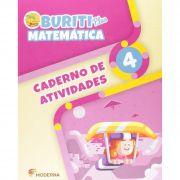 Buriti Plus Matemática 4 Caderno de Atividades - Capa Comum – Ed. Moderna