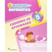 Buriti Plus Matemática 5 Caderno de Atividades - Capa Comum – Ed. Moderna