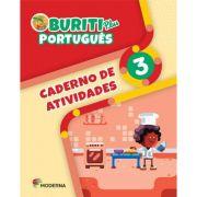Buriti Plus Português 3 Caderno de Atividades - Capa Comum – Ed. Moderna