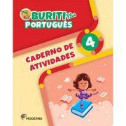 Buriti Plus Português 4 Caderno de Atividades - Capa Comum – Ed. Moderna