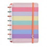 Caderno Inteligente Grande Arco-Íris Pastel - CIGD4060