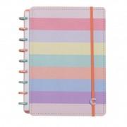 Caderno Inteligente Médio Arco-Íris Pastel - CIMD3057
