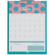 Calendário Planner 12 folhas Personalizadas, DAC