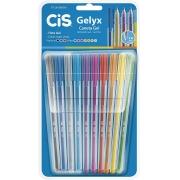 Caneta Gel Cis - 1.0mm -  Gelyx - 10 Cores