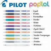 Caneta Gel Retrátil Pop´Lol 0,7 mm - Pilot - 1 unidade