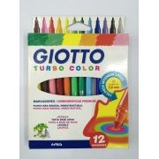 CANETA HIDR 12 C GIOTTO TURBO COLOR