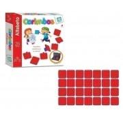 Carimbo Alfabeto com 28 Peças - Nig Brinquedos