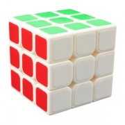 Cubo Mágico Profissional 3 - 3x3x3 - Branco - Cuber Brasil