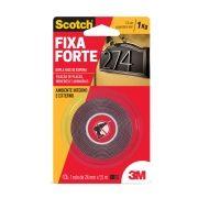 FITA FIXA FORTE  SCOTCH 3M      24MM X1,5M - AMBIENTE EXTERNO