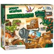 Jogo Da Memória Dinossauro - Pais & Filhos
