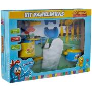 Kit Panelinhas Galinha Pintadinha- Nig Brinquedos