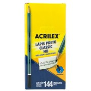 LAPIS Nº 2 ACRILEX CLASSIC C/144 UNIDADES