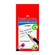 Lápis Preto Nº2 Sextavado Ecolápis Cx 144 Un -  Faber Castell