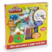 Livro Banho Divertido Play-Doh - DTC