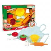 Macarrão na Panelinha 7 Peças - Nig Brinquedos