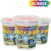 Massa de modelar Soft 500 grs - Acrilex