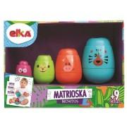 Matrioska Bichitos - Brinquedo Educativo de Encaixe - Ref 1148 - Elka