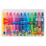 Mega Gel Color Giz Retrátil - Tris
