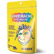 Papel Machê 100g Acrilex