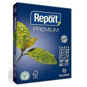 Papel Sulfite Carta 216X279Mm 75G Report Premium PCT C/500FLS