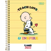 Planner Espiral Snoopy 2022